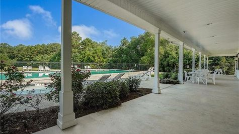 Village at Guste Island Pool and Clubhouse - DSLD Homes - Madisonville, LA