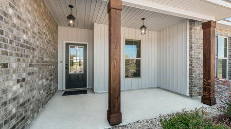 Acadian Meadows Model Home Exterior - DSLD Homes - Lafayette, LA