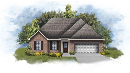 Ripley IV H - Front Elevation - DSLD Homes