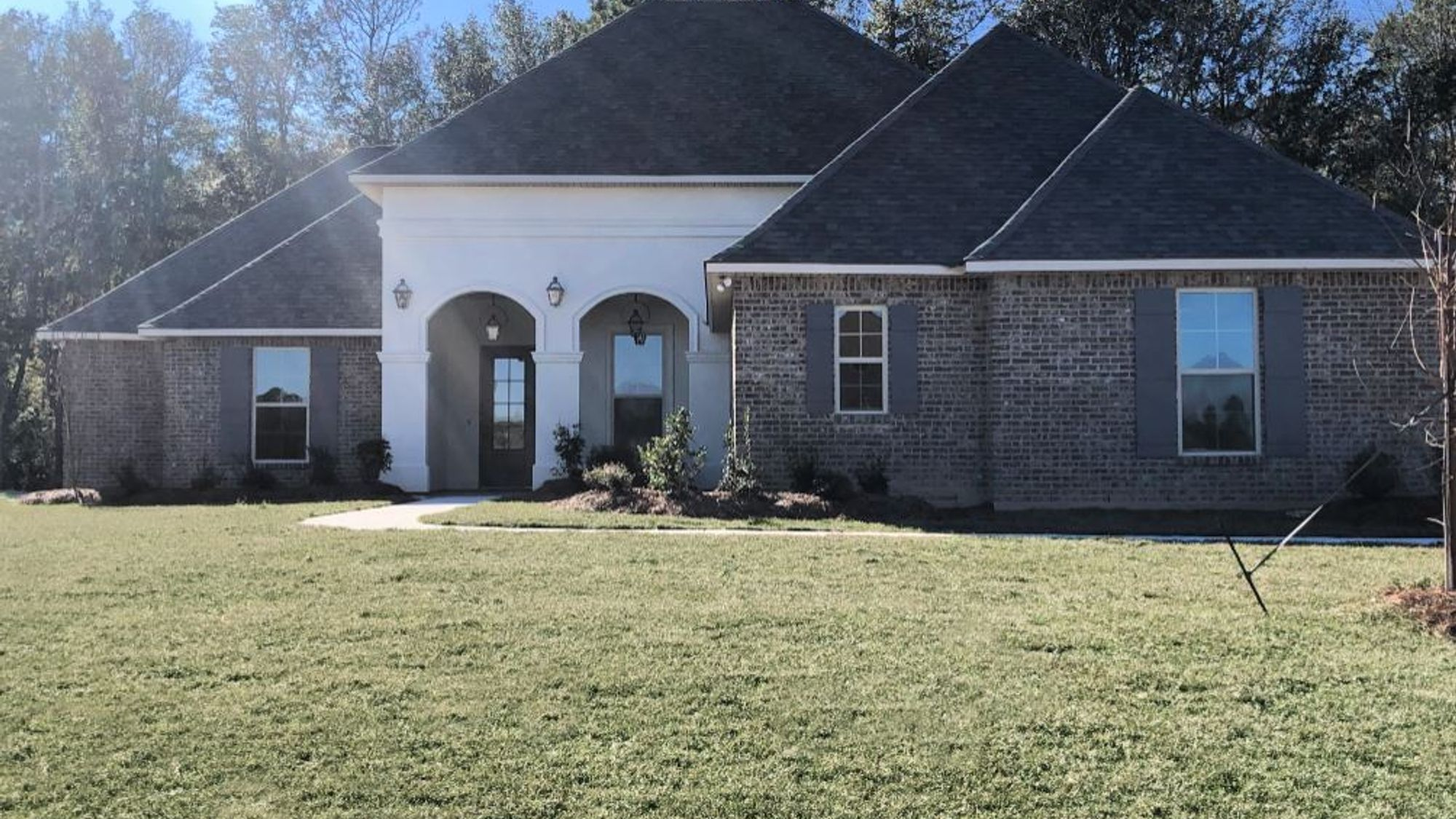 Front View - Deacon IV A - Spring Lakes Community - DSLD Homes Covington