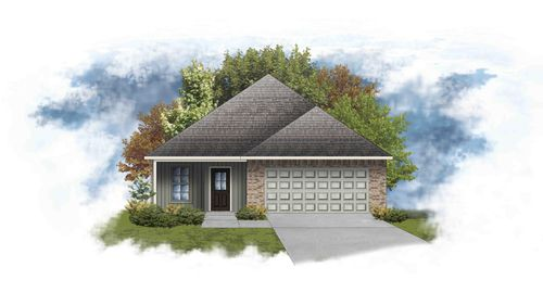 Manchester III G - Front Elevation - DSLD Homes