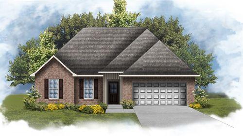 Ravenswood IV H - Front Elevation - DSLD Homes