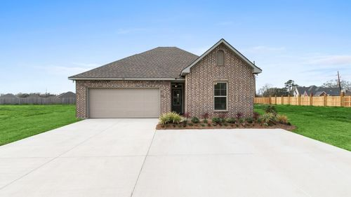 Briar's Cove - DSLD Homes - Azalea III A - Lafayette, LA - Model Home Exterior