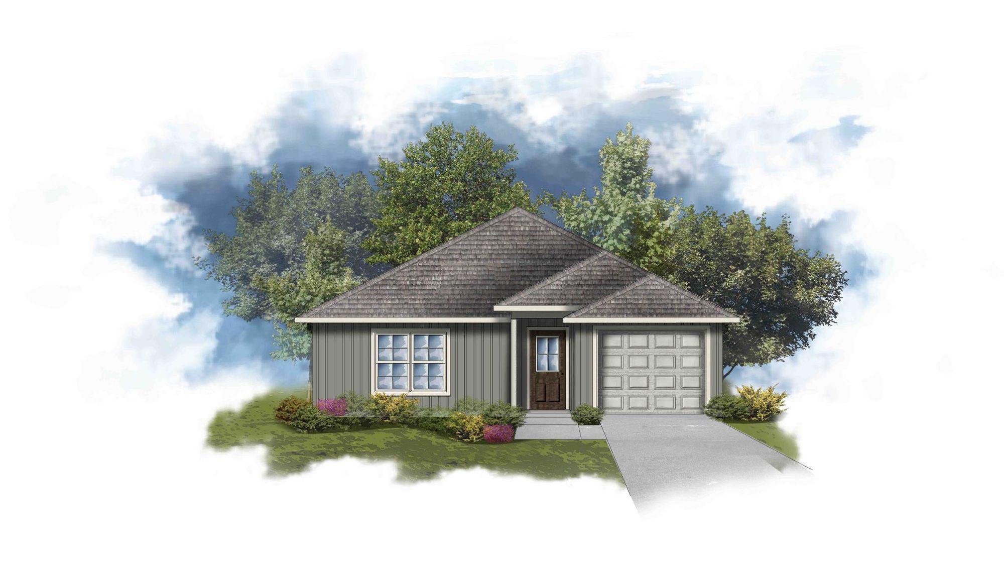 DSLD Homes - The Cove - Lafayette, LA - Garland III G
