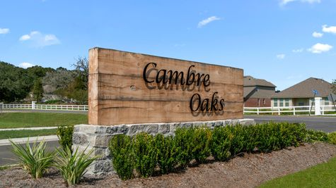 DSLD Homes - Cambre Oaks - Gonzales, LA - Community Entrance Sign