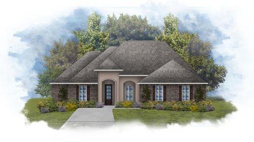 Klein II B - Front Elevation - DSLD Homes