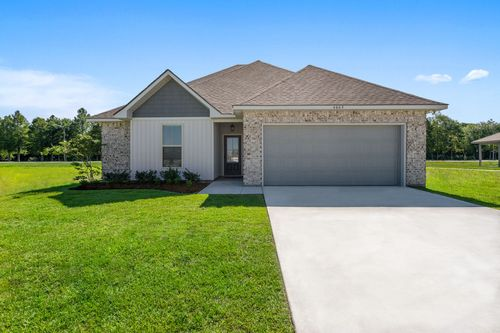Pelican Bay - Model Home Exterior - DSLD Homes - Belhaven III A - Marrero, LA