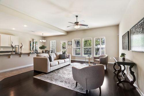 Silver Hill - Model Home Living Room - DSLD Homes - Roanoke IV A - Ponchatoula, LA