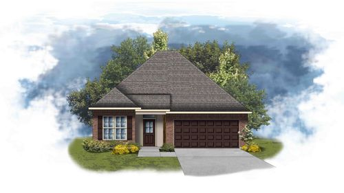 Birch II B - Front Elevation - DSLD Homes