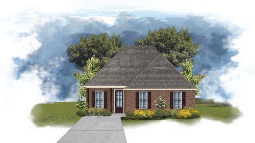 Giorgio II B - Front Elevation - DSLD Homes