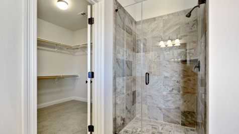 Master Closet and Shower - DSLD Homes - Daphne - Old Field