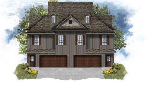 Cadet II A - Front Elevation - DSLD Homes