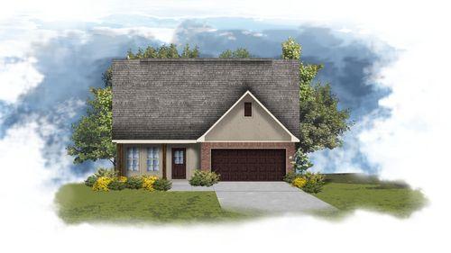 Acacia V A - Front Elevation - DSLD Homes