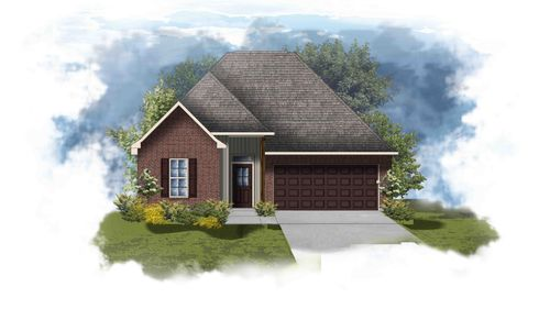 Townsend III H - Front Elevation - DSLD Homes