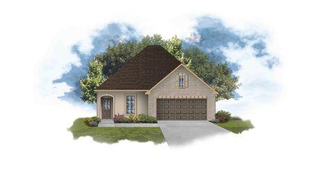 Bagneaux III A PB Open Floor Plan - DSLD Homes