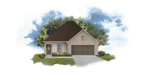 Bagneaux III A PB Open Floor Plan - DSLD Homes