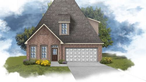Canna III C - Front Elevation - DSLD Homes