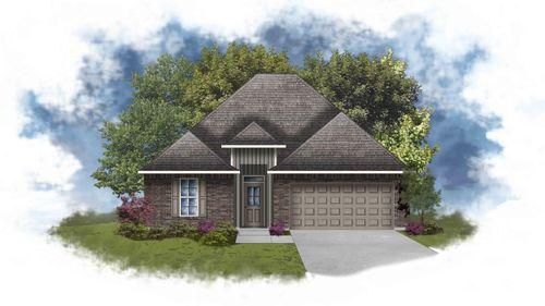 LaSalle IV G - Front Elevation - DSLD Homes