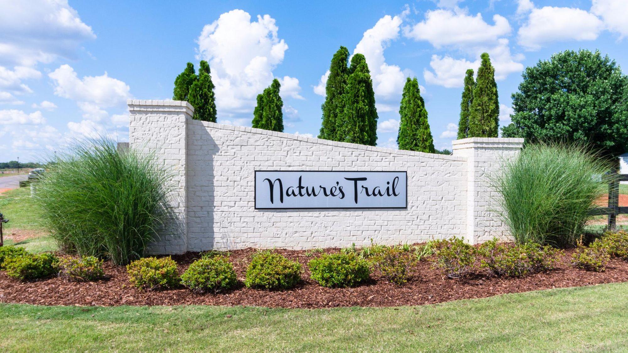 Front Entrance - Nature's Trail - DSLD Homes Huntsville