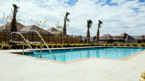 Sugar Ridge  Community Pool Area - Sugar Ridge Community - DSLD Homes - Lafayette