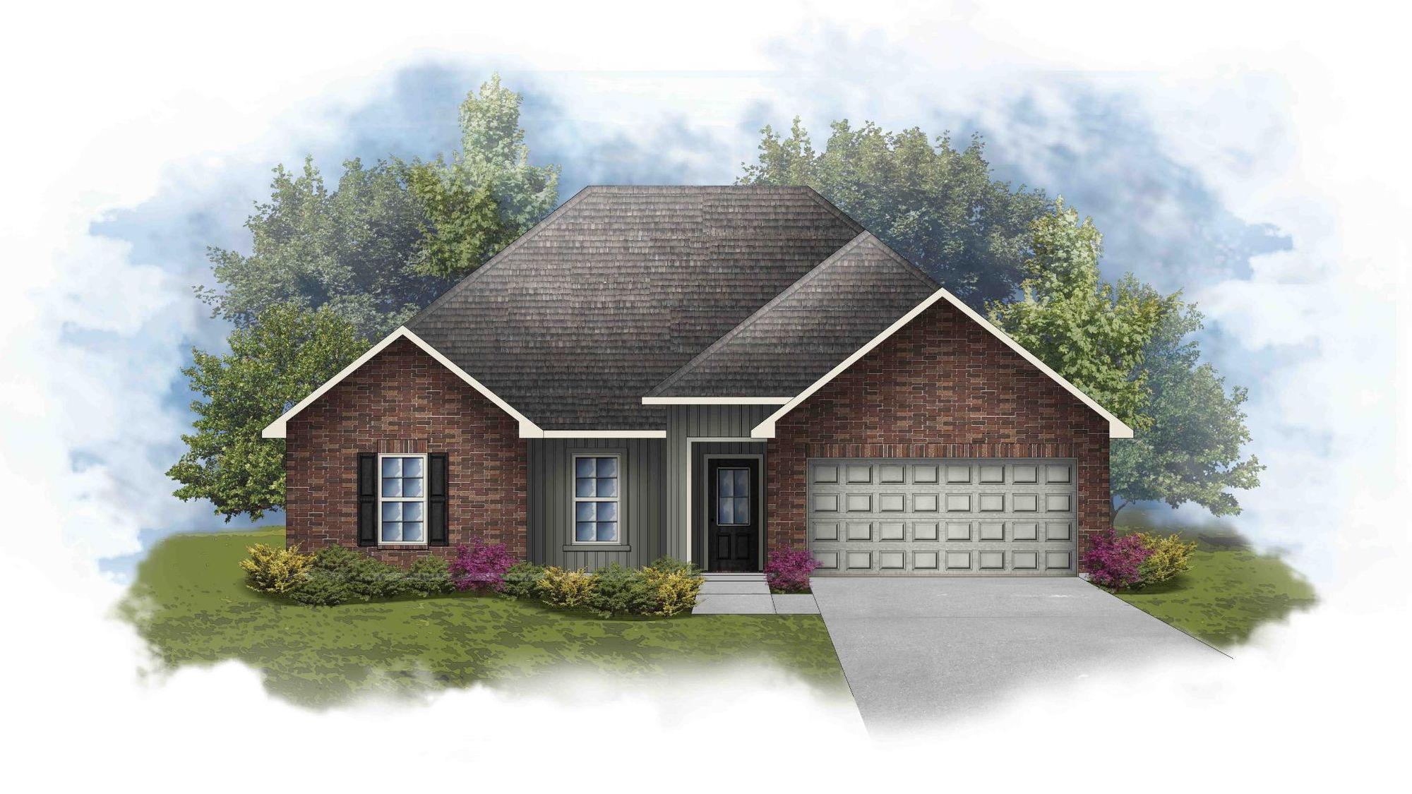 Norman III G - Open Floor Plan - DSLD Homes