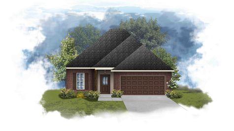 Dante III B - Front Elevation - DSLD Homes