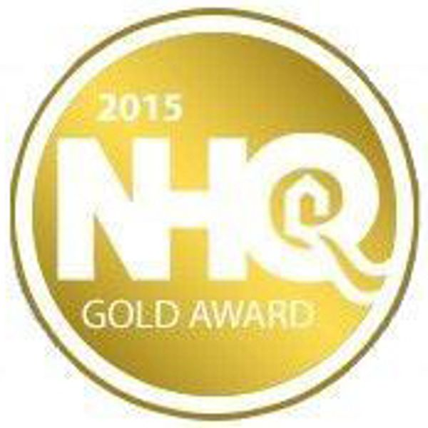 Logo - 2015 National Housing Quality Award GOLD Winner