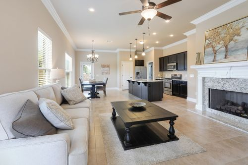 Kingston Place - Model Home Living Room - DSLD Homes - Buttercup III B - Pensacola, FL