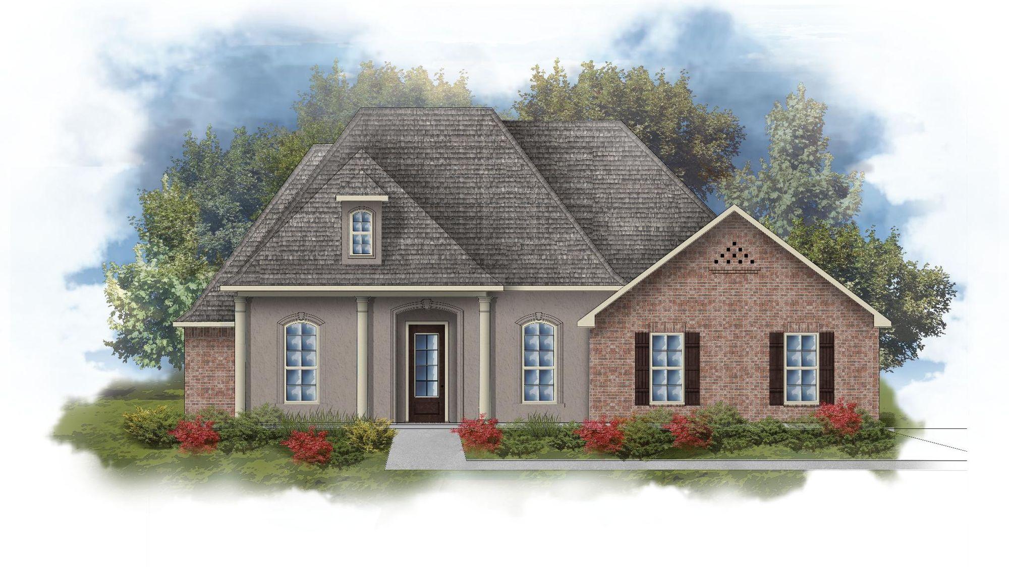 Rossi III D Open Floorplan Elevation  Image - DSLD Homes