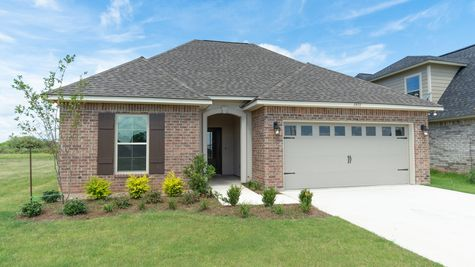 Beauclaire Move-In Ready Exterior - DSLD Homes - Shreveport