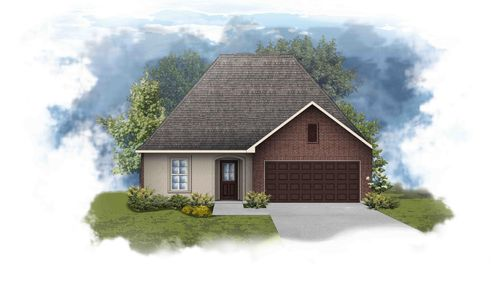 Navona III A - Front Elevation - DSLD Homes
