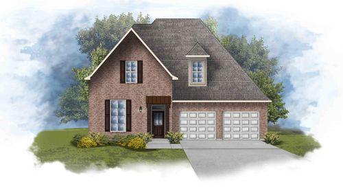 Versailles III B - Front Exterior - DSLD Homes