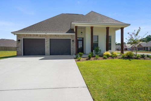 Willow Heights - Model Home Exterior - DSLD Homes - Violet III A - Bossier City, LA