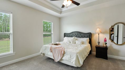 Master Bedroom Suite - Savoy Place - DSLD Homes Gulfport