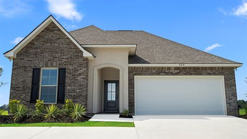 Somerset Park Model Home Exterior - DSLD Homes - Sterlington, LA
