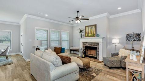 Belrose Place Model Home - Huntsville, AL - DSLD Homes - Trenton III A