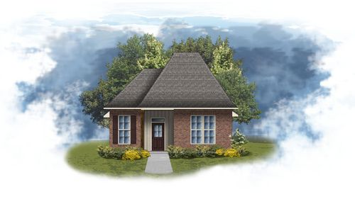 Gibbs II G - open floor plan - DSLD Homes