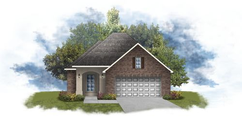 Derose III A - Open Floor Plan - DSLD Homes