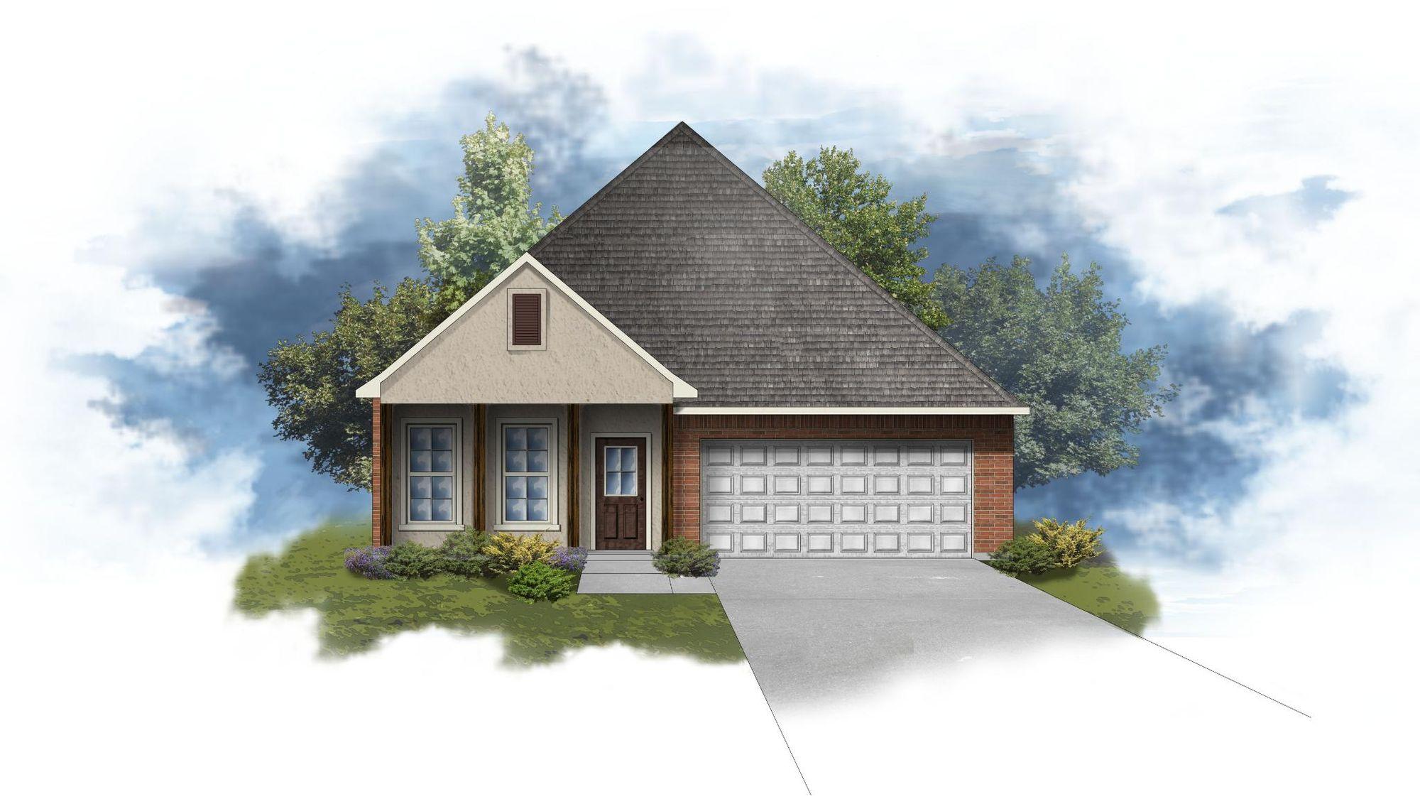 Orange IV A - Open Floor Plan - DSLD Homes