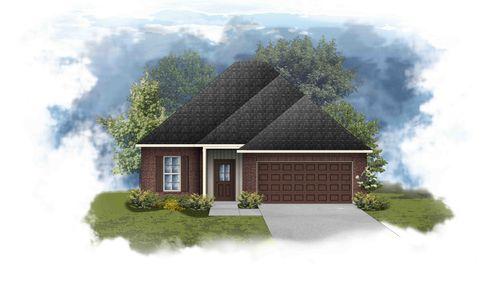 Dogwood III H - Front Elevation - DSLD Homes