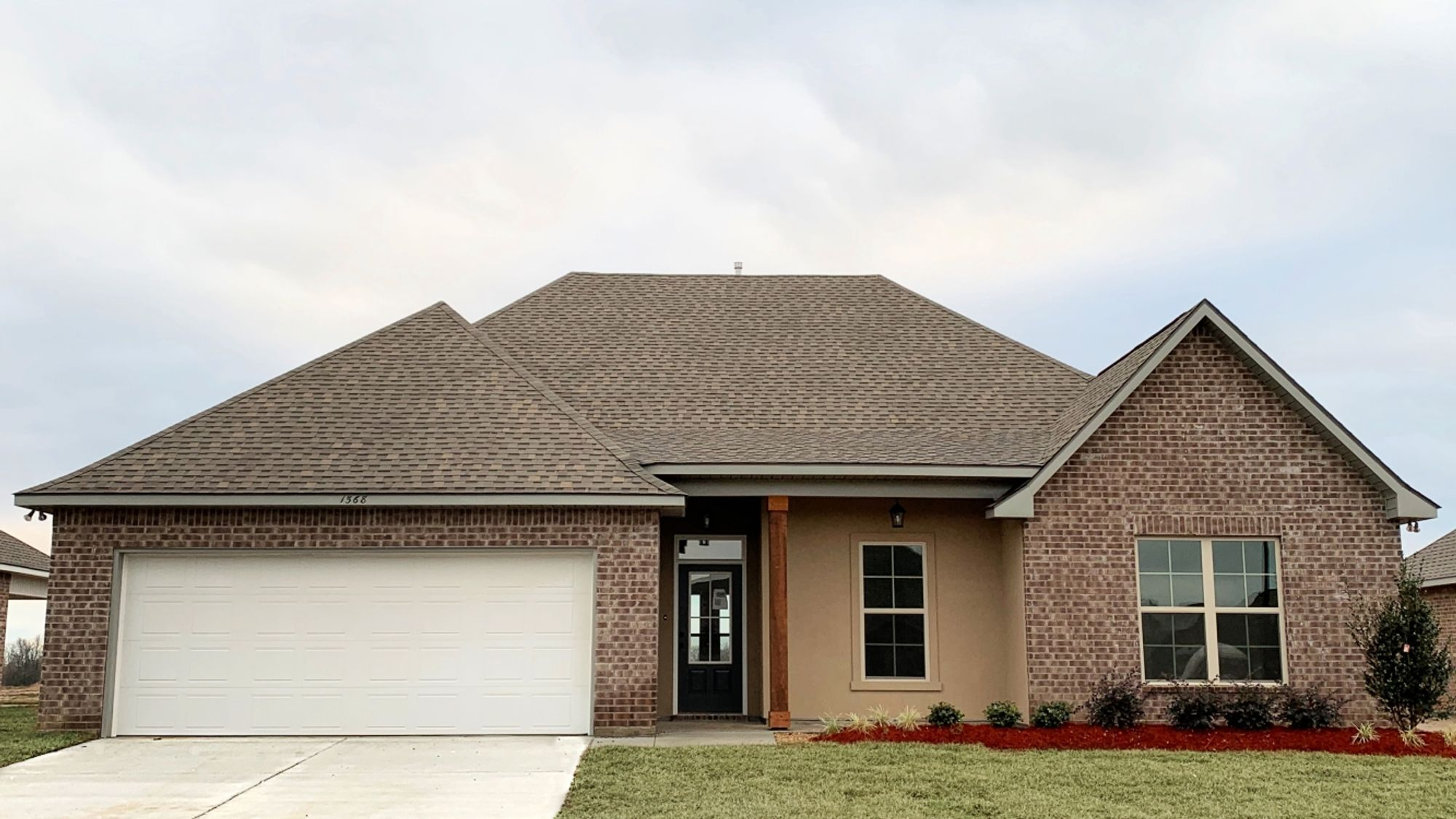 Front View - Cognac IV A - Fairview Gardens Community - DSLD Homes Zachary