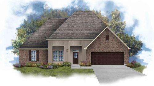 Johnson IV G - Front Elevation - DSLD Homes