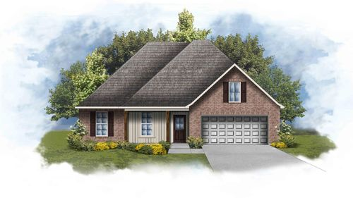 Roebuck IV A - Open Floor Plan - DSLD Homes