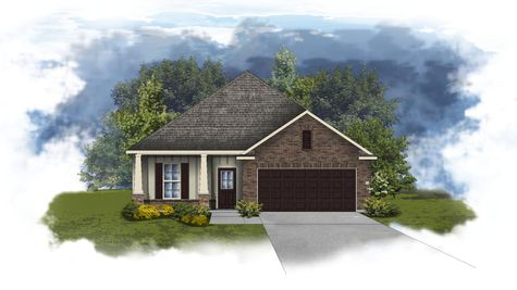 Norwood II B - Open Floor Plan - DSLD Homes