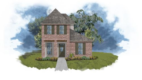 Baines II A - Front Elevation - DSLD Homes