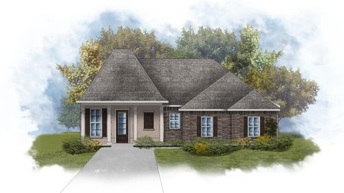 Lacombe III B - Open Floor Plan - DSLD Homes
