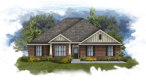Ivanhoe II B - Open Floor Plan - DSLD Homes