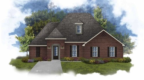 Claudet II B - Open Floor Plan - DSLD Homes