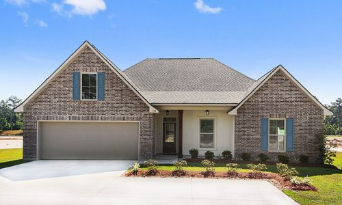 Ashton Parc - Model Home Exterior - DSLD Homes - Cognac IV B - Slidell, LA