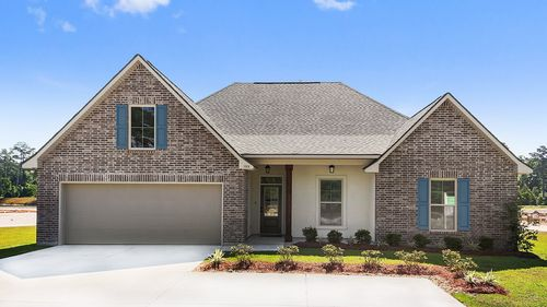 Front of the Model - Ashton Parc - DSLD Homes Slidell